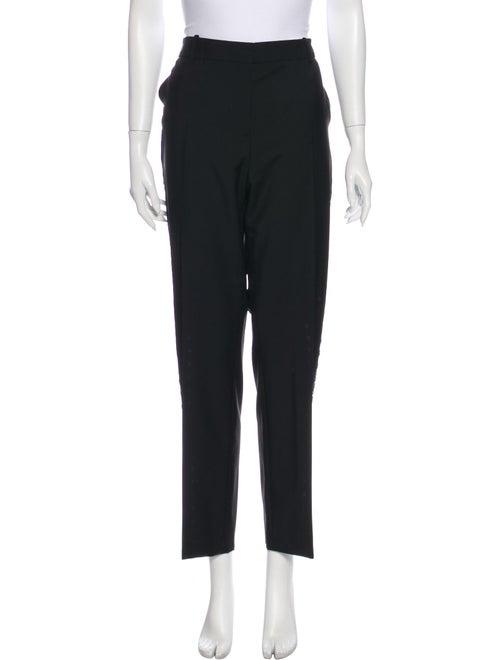 McQ Alexander McQueen Wool Straight Leg Pants w/ T