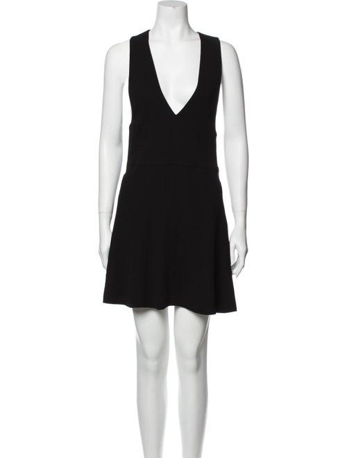 McQ Alexander McQueen Skater Dress Mini Dress Blac