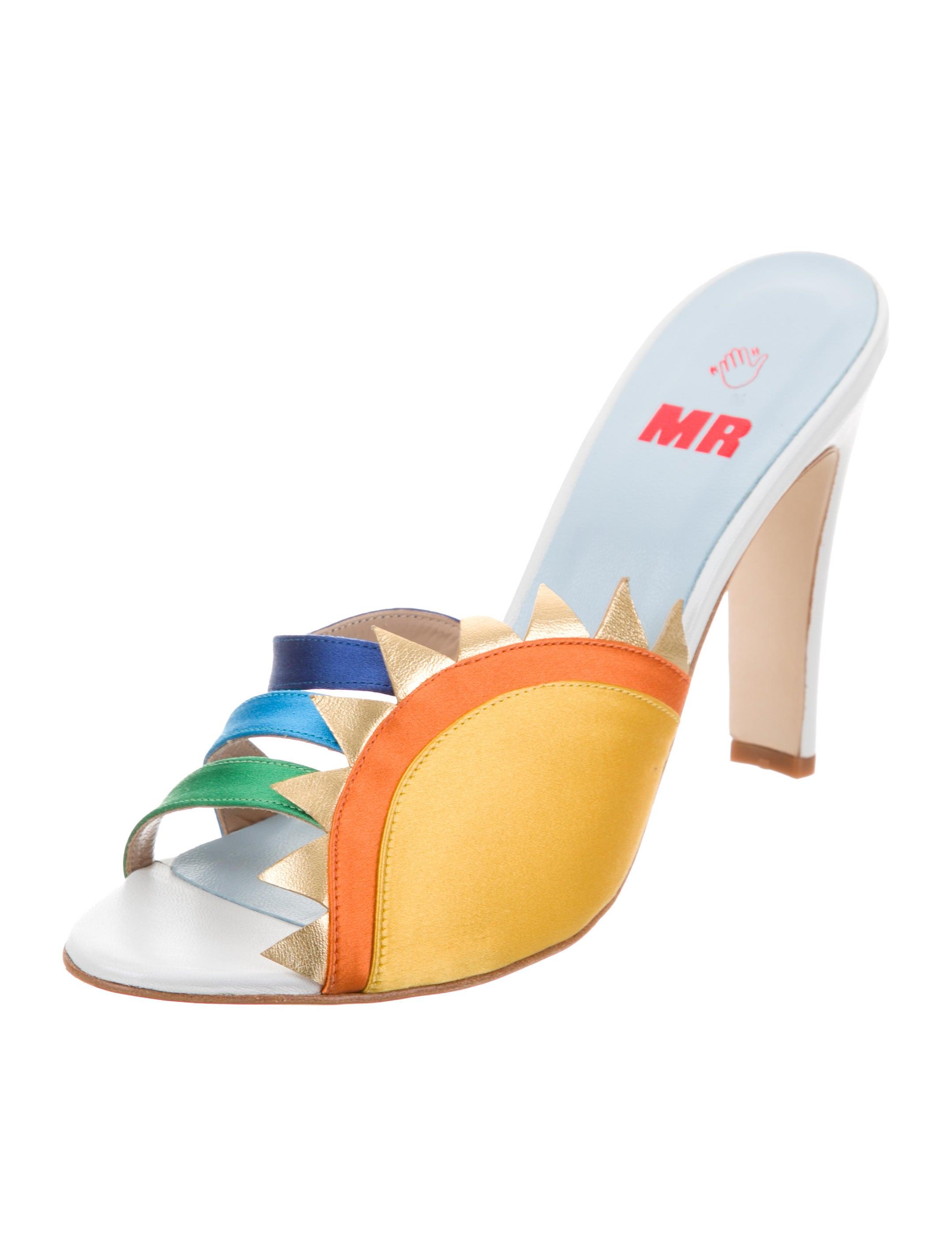discount professional MR by Man Repeller Sun Slide Sandals w/ Tags for sale finishline buy cheap eastbay best seller online VYsP2LeT