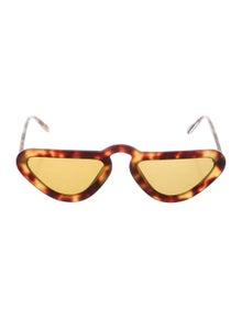 a259edafaeda MR by Man Repeller. Tinted Narrow Sunglasses