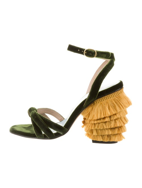 MR by Man Repeller Sandals Green