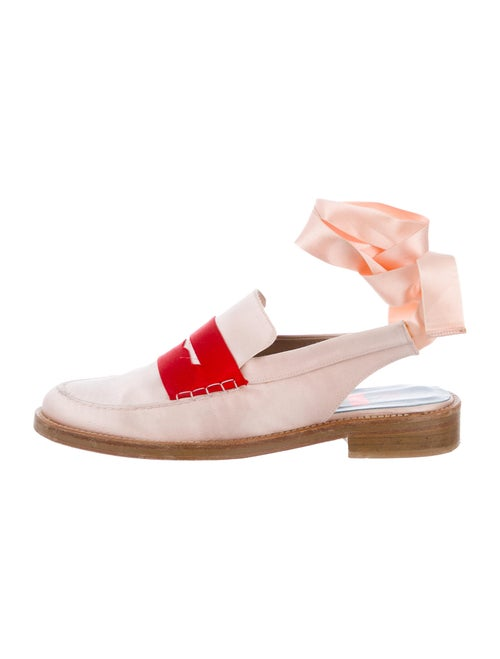 MR by Man Repeller Slingback Flats Pink