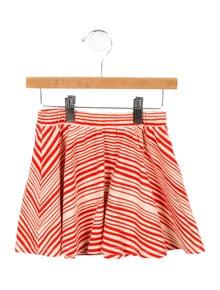 Mini Rodini Girls' Striped A-Line Skirt