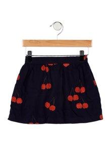 Mini Rodini Girls' Printed Mini Skirt