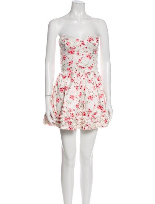 Man Repeller x PJK Vintage Mini Dress White
