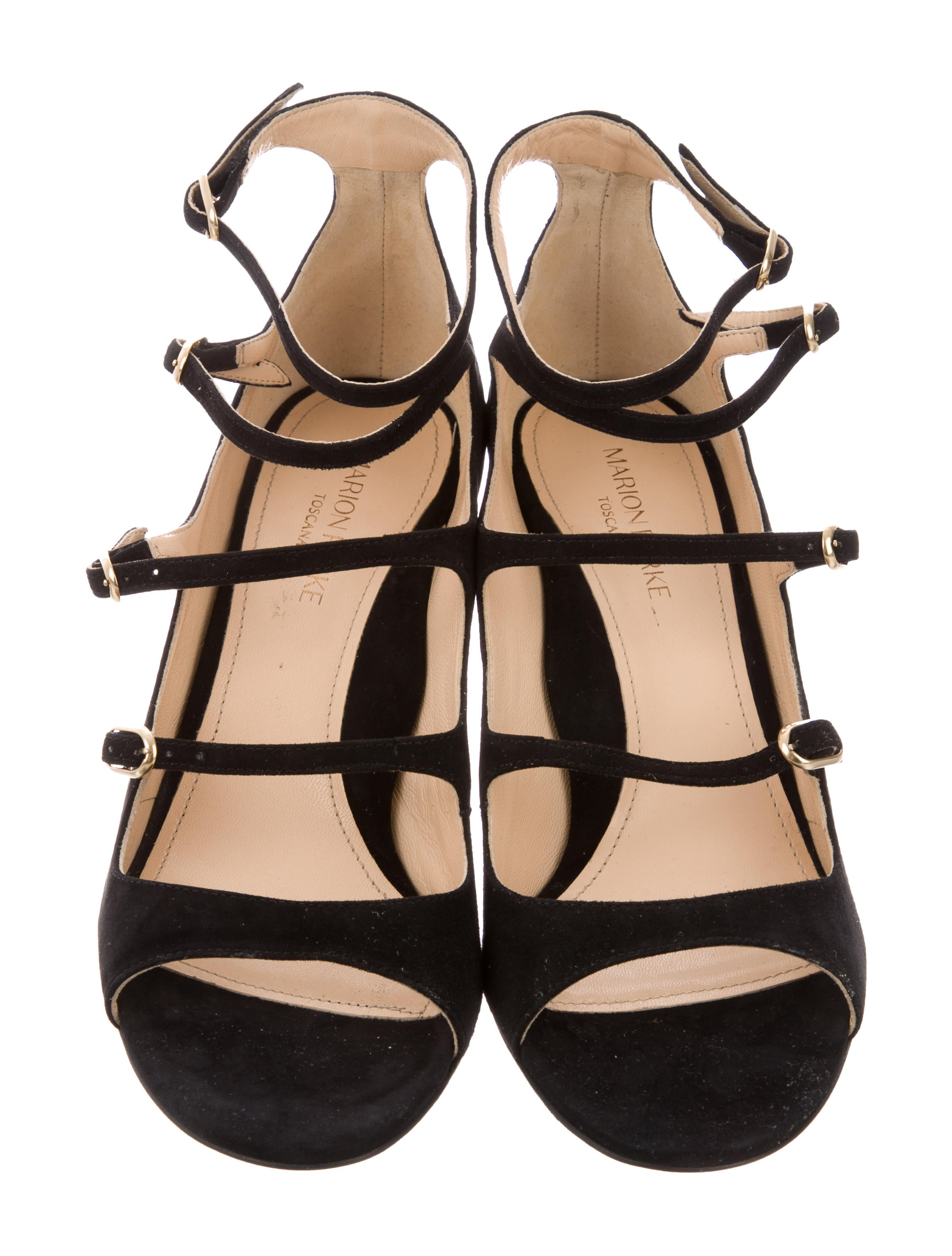 Marion Parke 2018 Bernadette Suede Sandals w/ Tags clearance nicekicks for sale buy authentic online wGx1tH