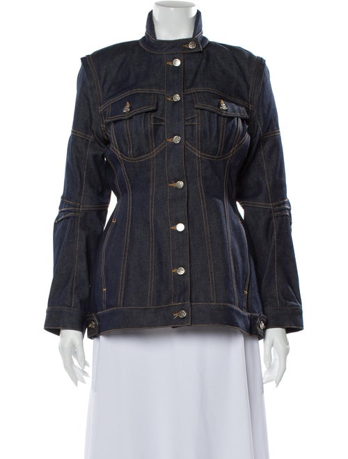 Marine Serre Denim Jacket w/ Tags Marine