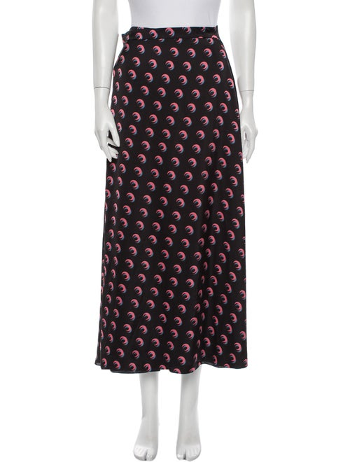 Marine Serre Printed Midi Length Skirt w/ Tags Mar