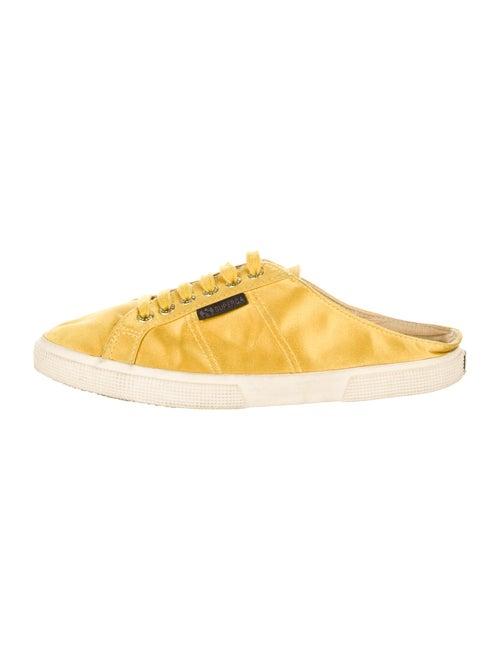 Man Repeller x Superga Sneakers Yellow