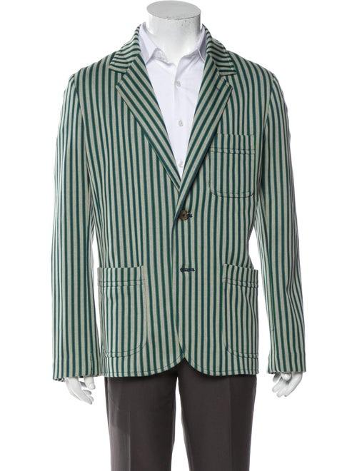 Mr. Turk Striped Sport Coat Green