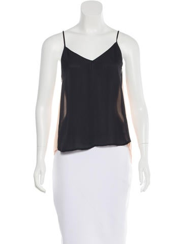 Mason Silk Colorblock Top w/ Tags None