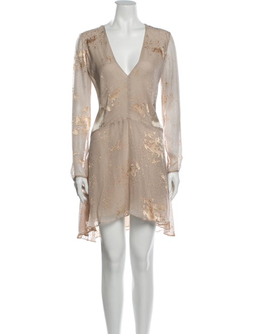Mason Silk Mini Dress