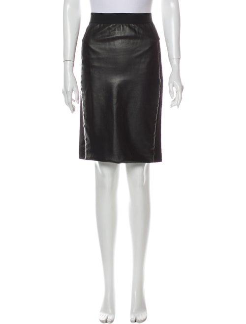Mason Knee-Length Skirt Black