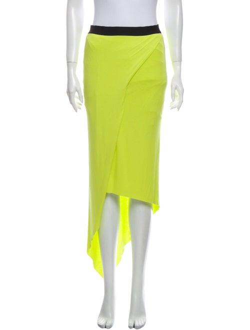Mason Midi Length Skirt Yellow