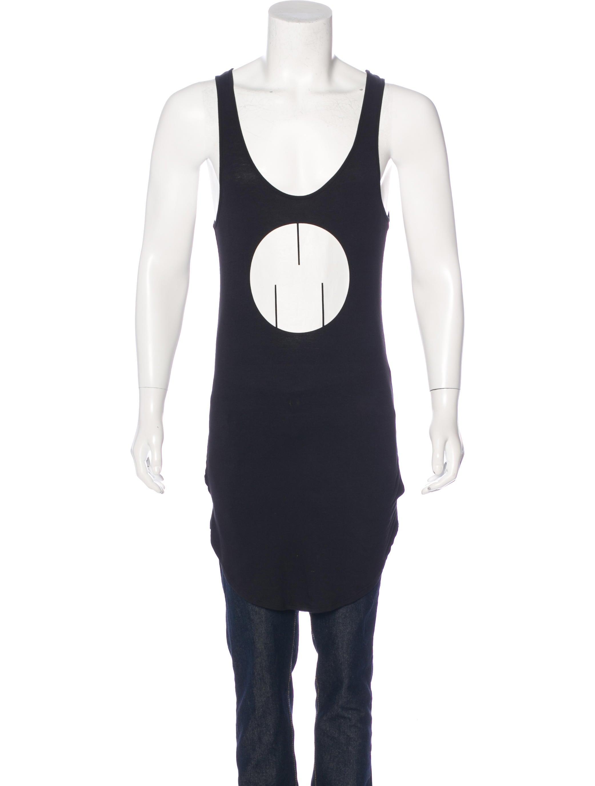 msftsrep longline logo tank top - clothing