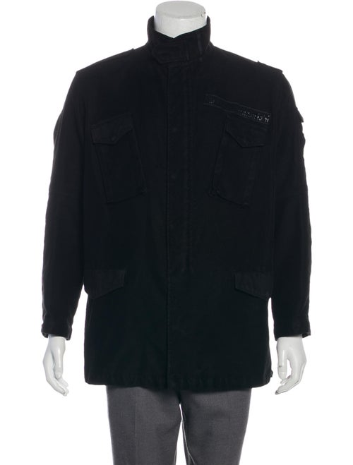Maharishi Woven Harrington Jacket black