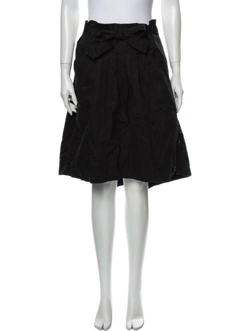 Maharishi Knee-Length Skirt Black