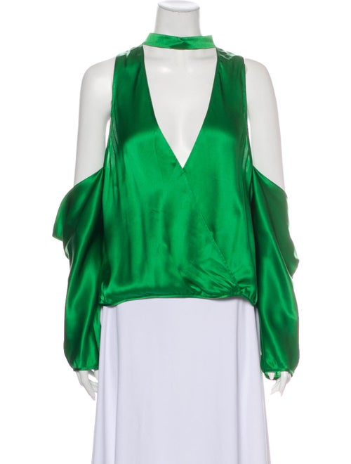 Michelle Mason Mason Drop Shoulder Blouse Silk Blo
