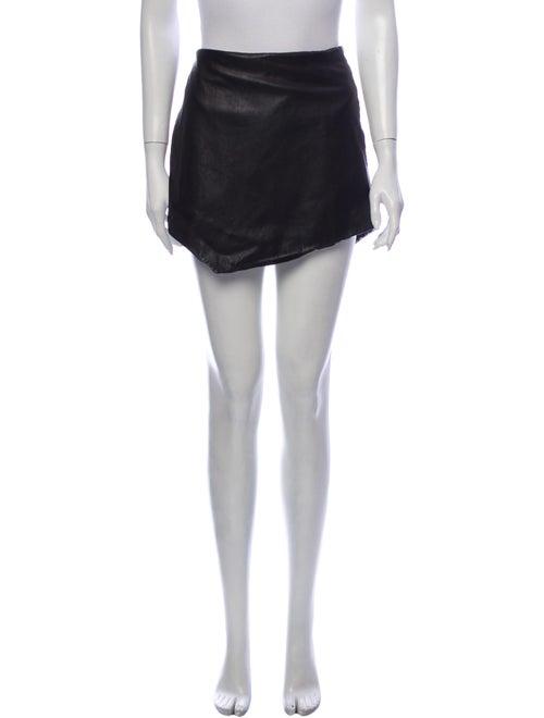 Michelle Mason Mini Skirt Black
