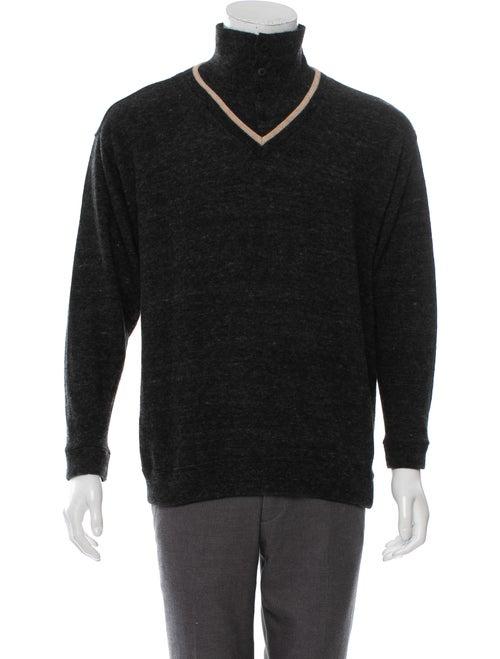 Matsuda Wool Polo Sweater wool