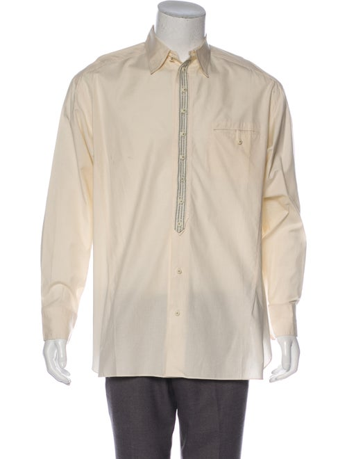 Matsuda Woven Button-Up Shirt