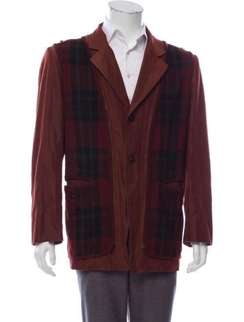 Matsuda Button-Up Jacket brown