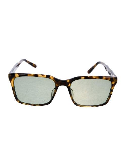 Matsuda Tinted Square Sunglasses Brown