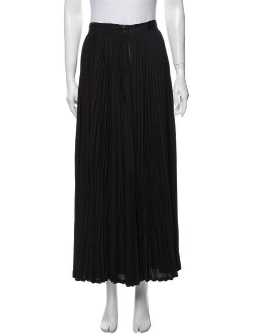 Matsuda Midi Length Skirt Black