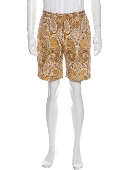 Monitaly Paisley Print Shorts