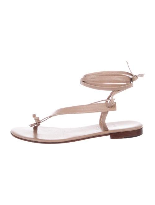 Martiniano Bibiana Leather Sandals