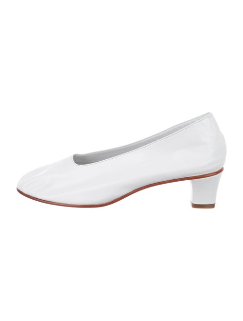 Martiniano Leather Pumps White - image 1