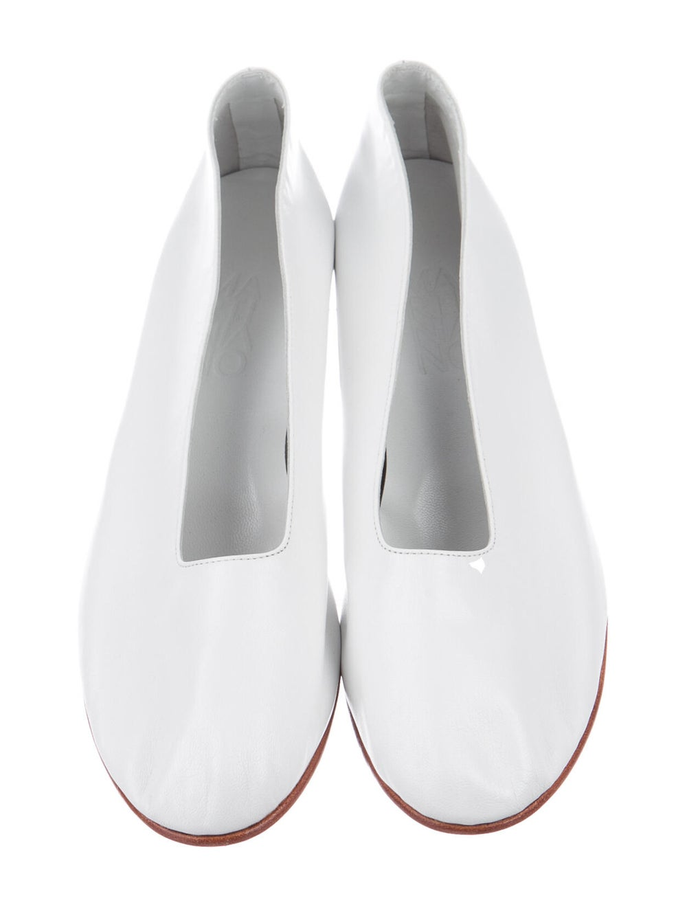 Martiniano Leather Pumps White - image 3