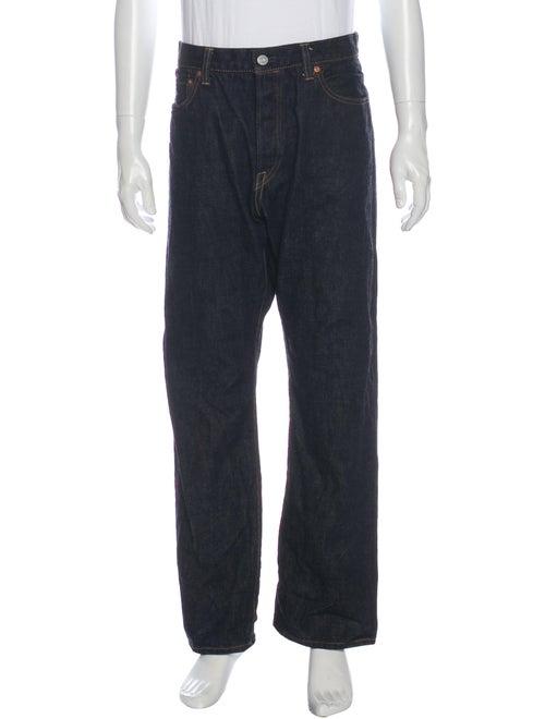 Momotaro Straight-Leg Jeans Blue