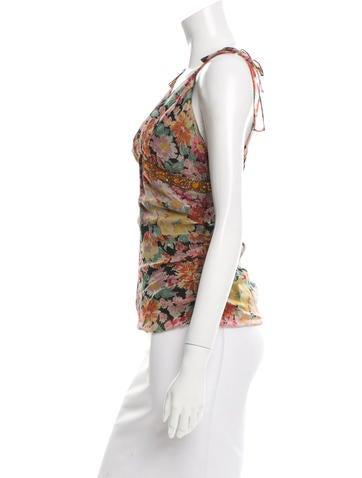 Silk Embellished Top