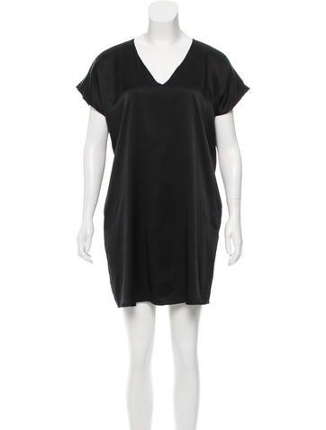 Miguelina Silk Mini Dress None