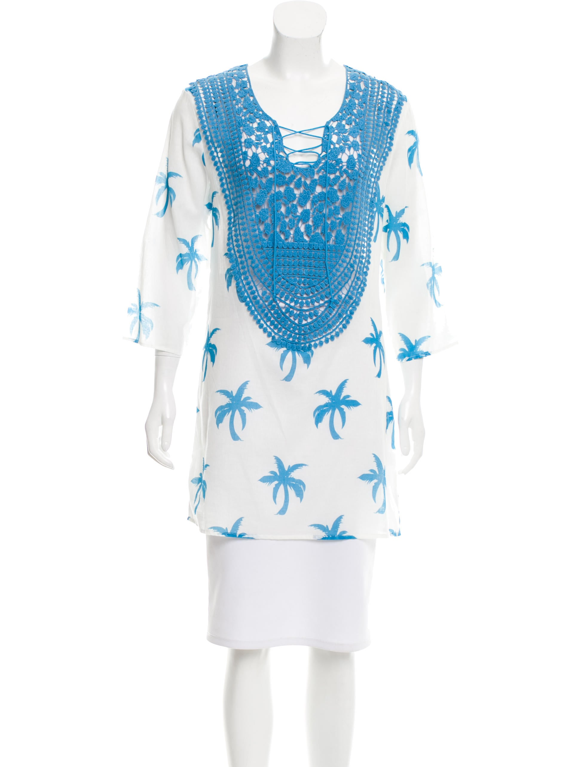 Miguelina embroidered tunic w tags clothing wmu