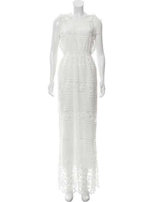 Miguelina Lace Maxi Dress