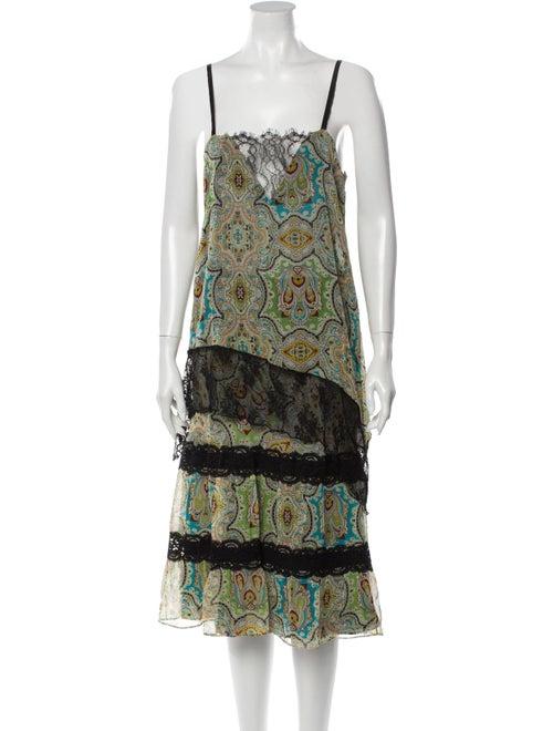Miguelina Paisley Print Skirt Set