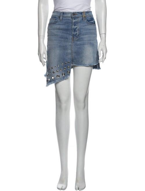 Musa Denim Skirt Mini Skirt Denim