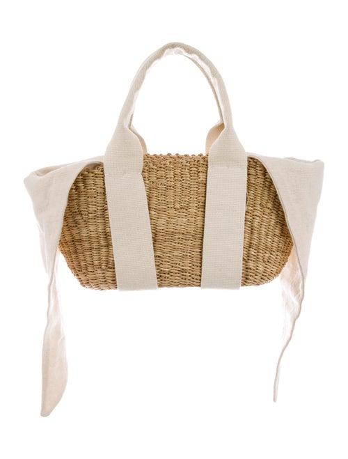 Muun Raffia Handle Bag