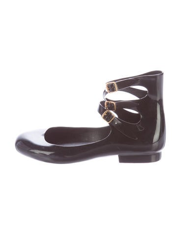 Jelly Buckle Flats