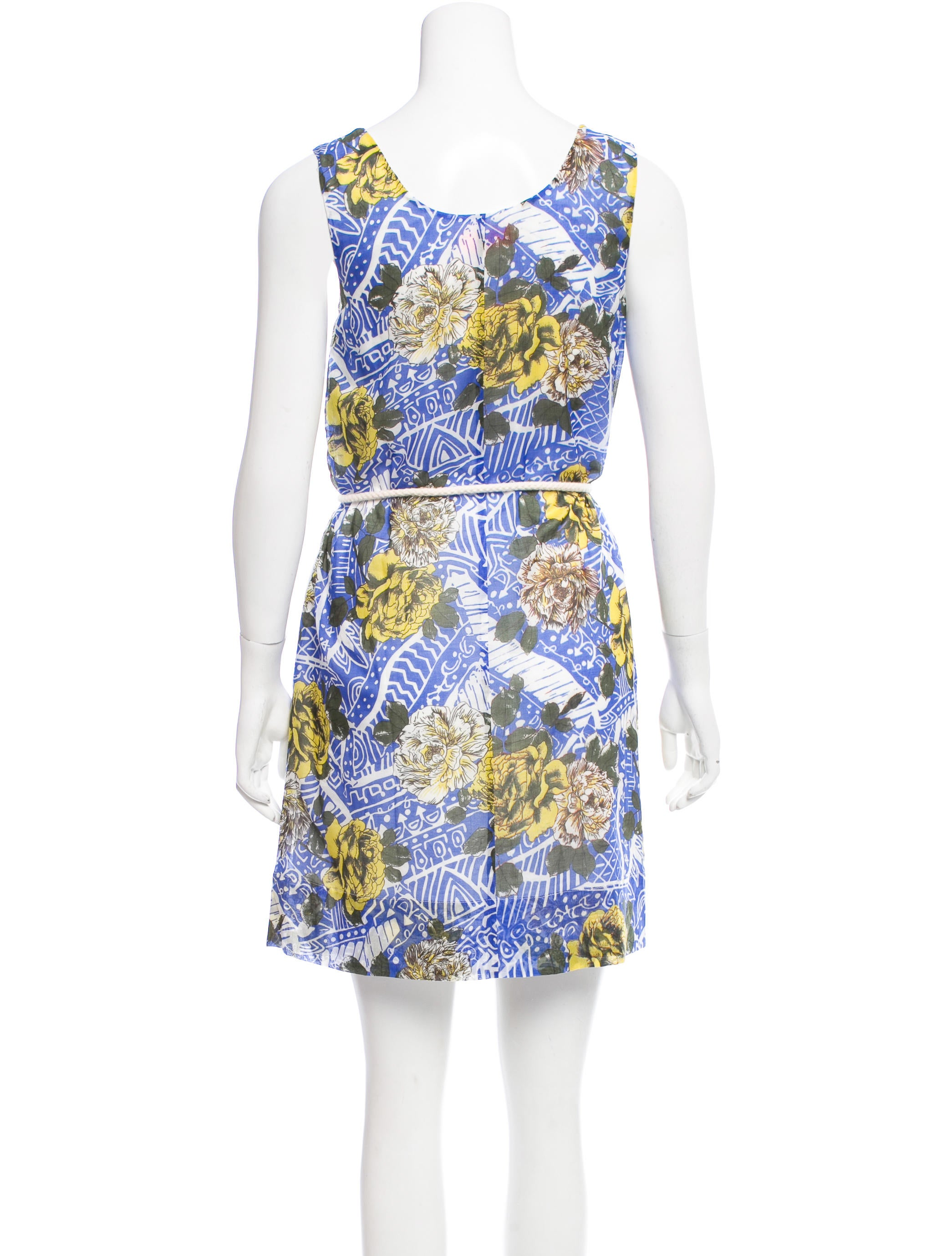 mw matthew williamson belted floral dress w tags