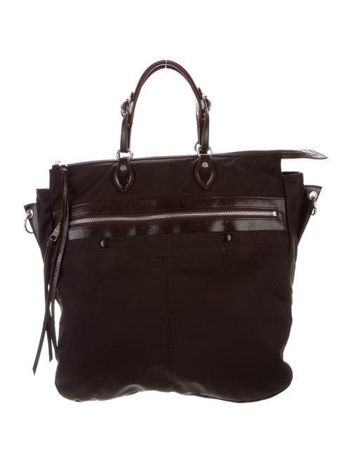 MZ Wallace Nylon Shoulder Bag Silver
