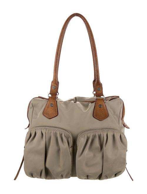 MZ Wallace Nylon Shoulder Bag Grey