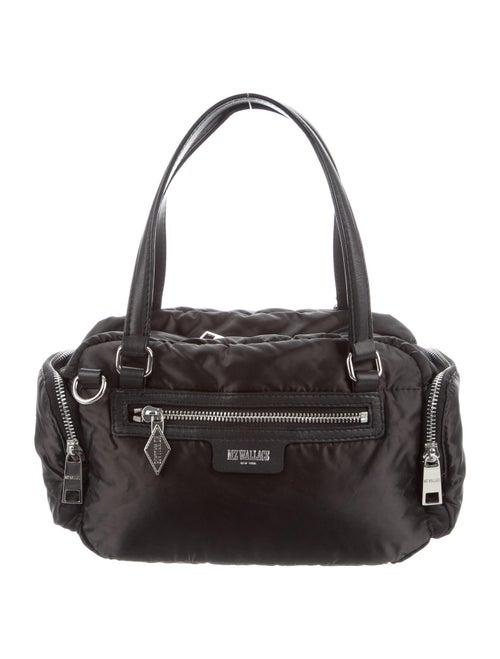 MZ Wallace Nylon Satchel Bag Black