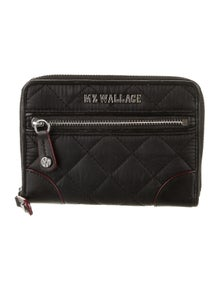 MZ Wallace Nylon Compact Wallet