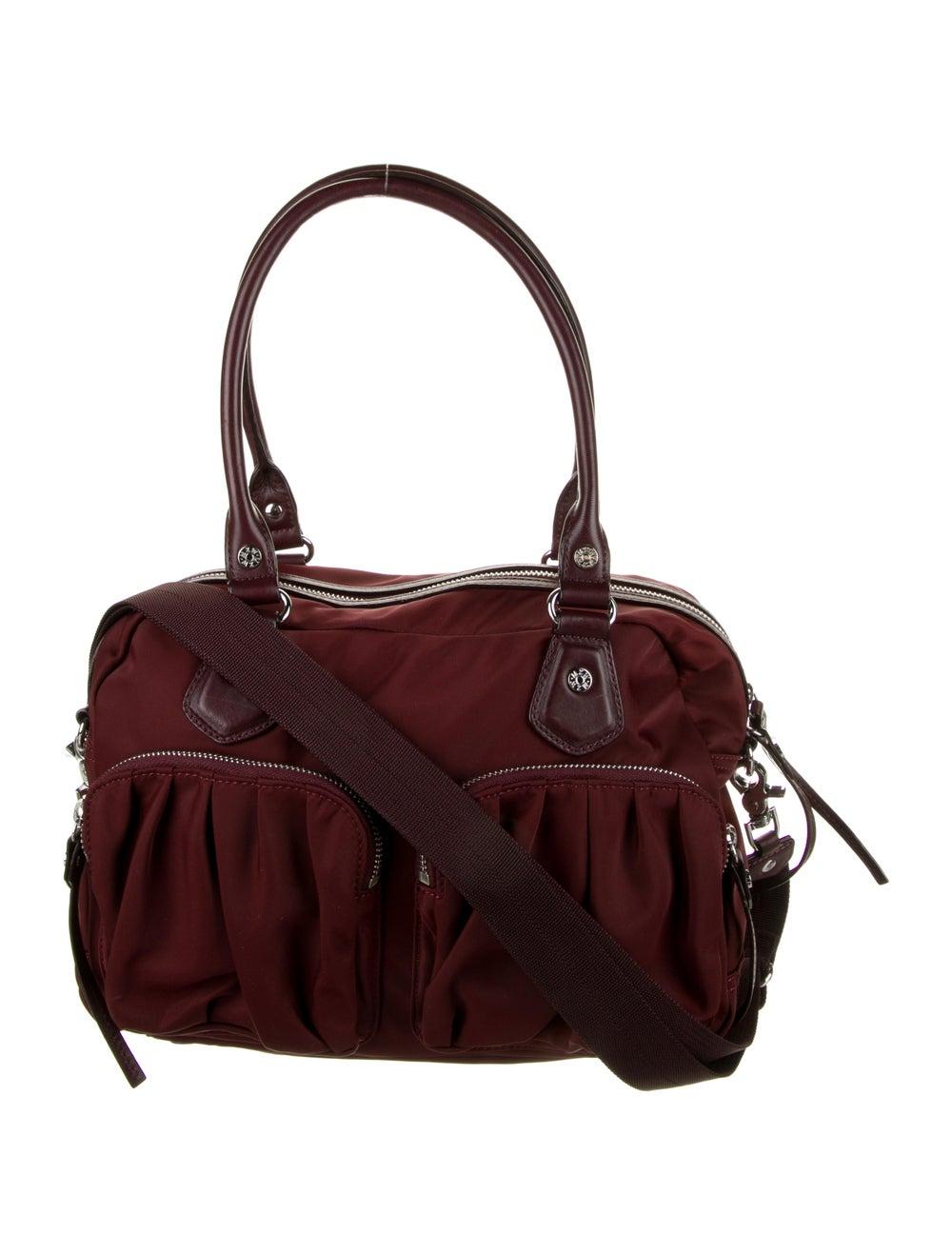 MZ Wallace Nylon Shoulder Bag Red - image 1