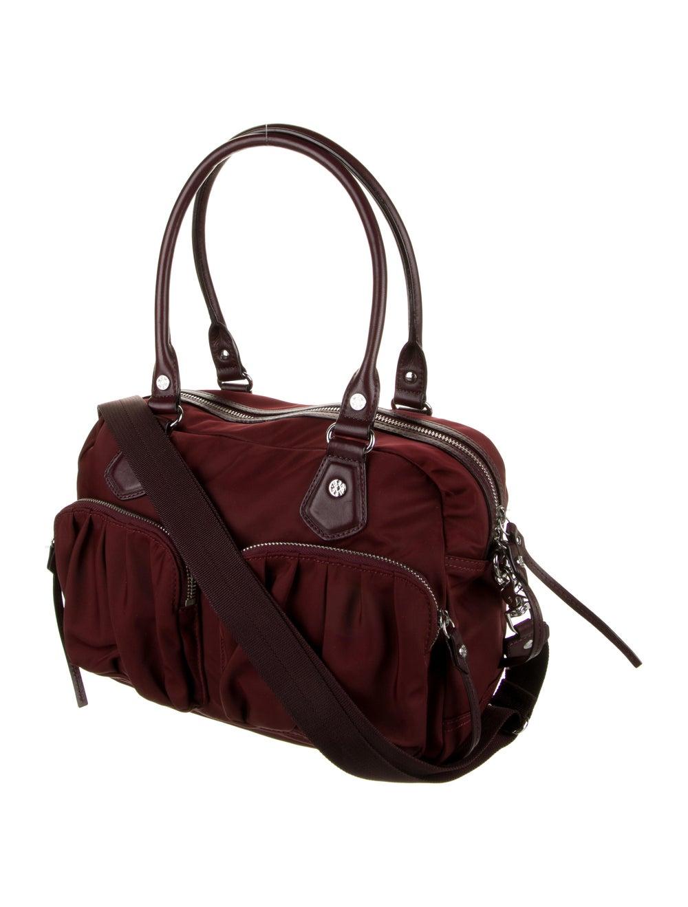 MZ Wallace Nylon Shoulder Bag Red - image 3