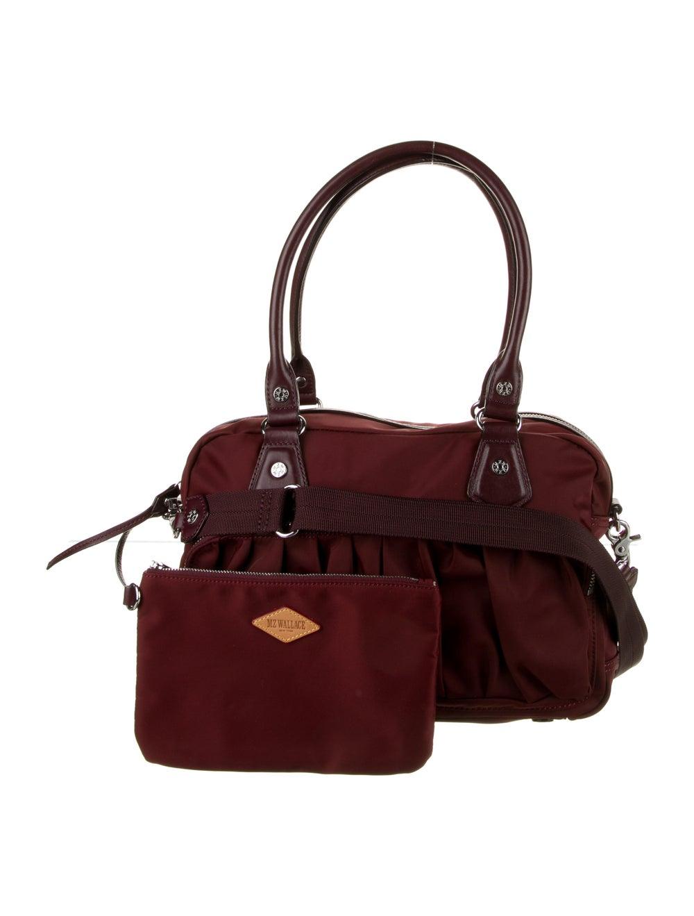 MZ Wallace Nylon Shoulder Bag Red - image 4