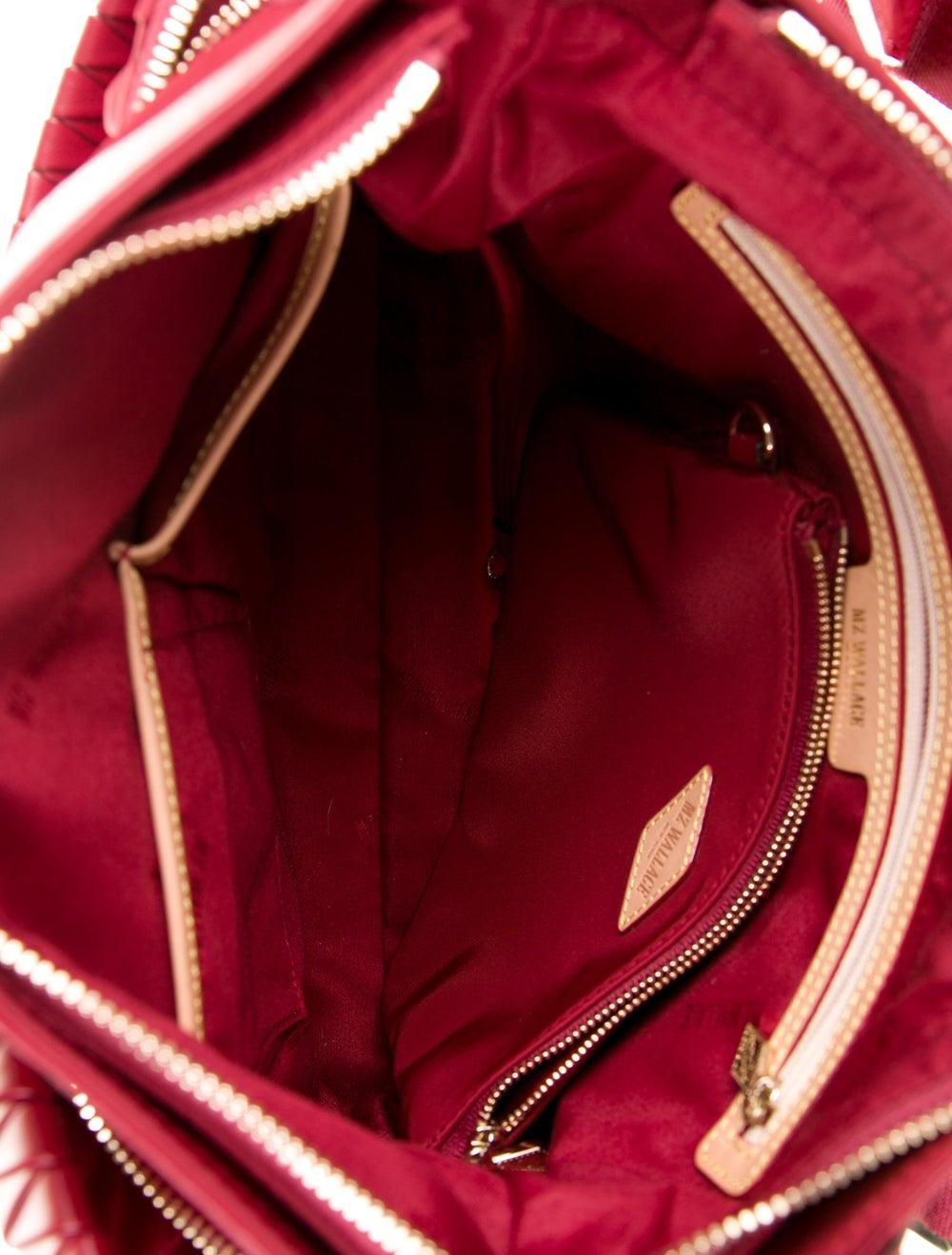 MZ Wallace Nylon Shoulder Bag Red - image 5